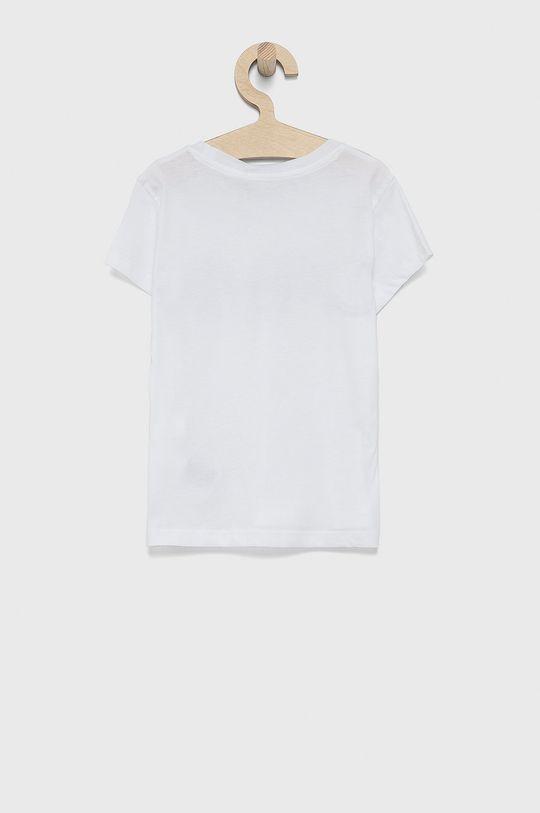Calvin Klein Jeans - T-shirt bawełniany dziecięcy biały