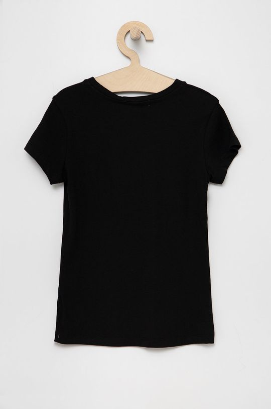 Calvin Klein Jeans - T-shirt dziecięcy czarny