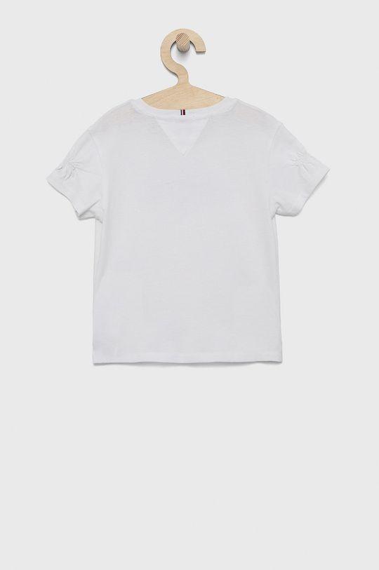 Tommy Hilfiger - Detské bavlnené tričko biela