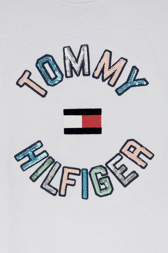 Tommy Hilfiger - T-shirt bawełniany dziecięcy 100 % Bawełna
