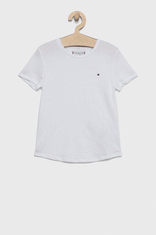biały Tommy Hilfiger - T-shirt dziecięcy Dziewczęcy