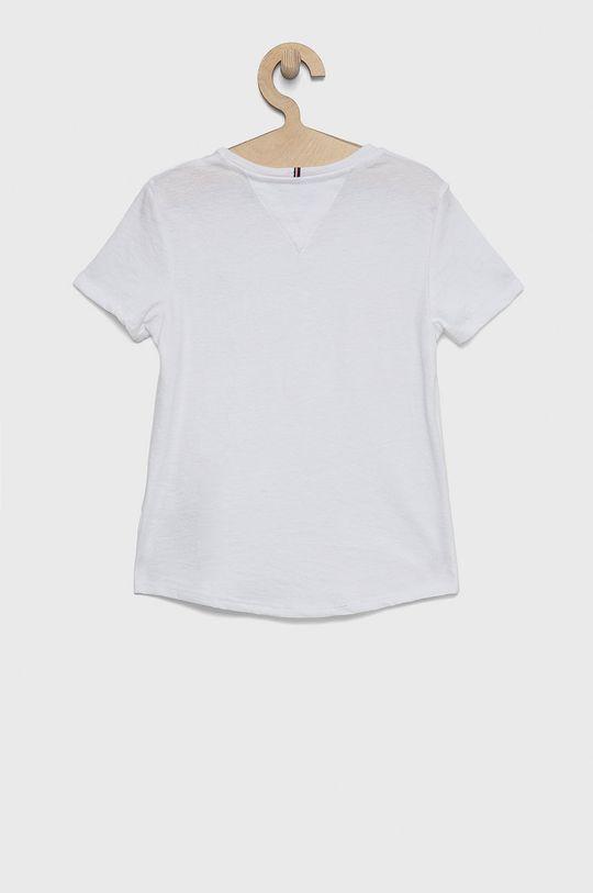 Tommy Hilfiger - T-shirt dziecięcy biały