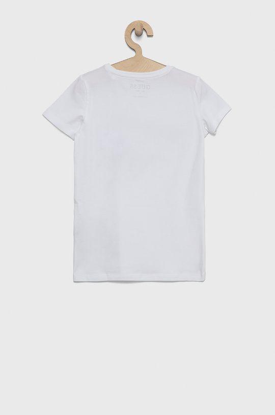 Guess - T-shirt dziecięcy biały