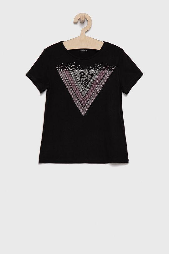 negru Guess - Tricou copii De fete