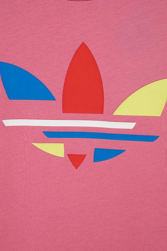 adidas Originals - T-shirt bawełniany dziecięcy 100 % Bawełna