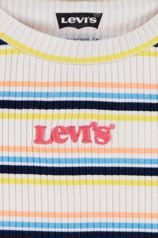 Levi's - Dětské tričko 92-128 cm jasně žlutá