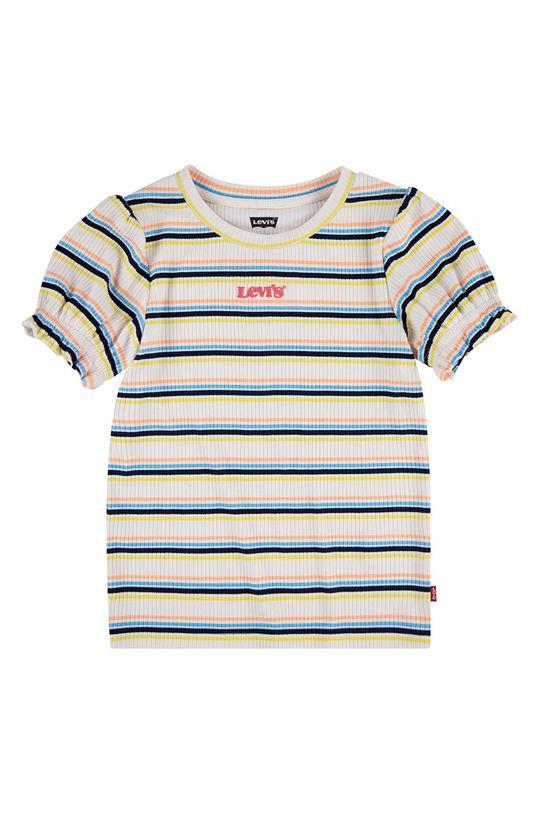 jasně žlutá Levi's - Dětské tričko 140-164 cm Dívčí