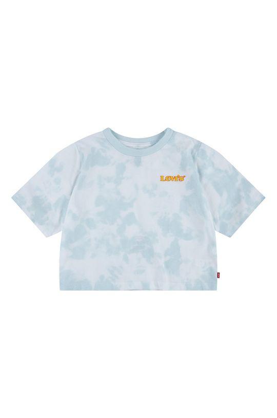 svetlomodrá Levi's - Detské tričko Dievčenský