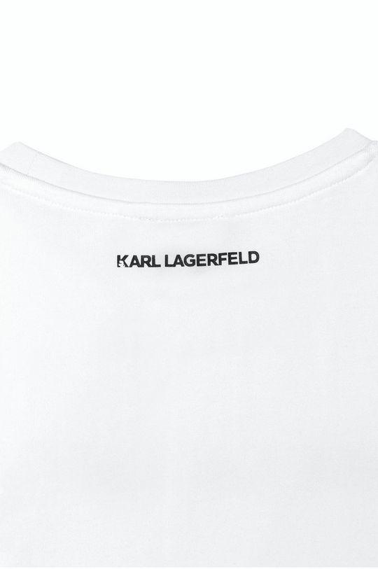 alb Karl Lagerfeld - Tricou copii
