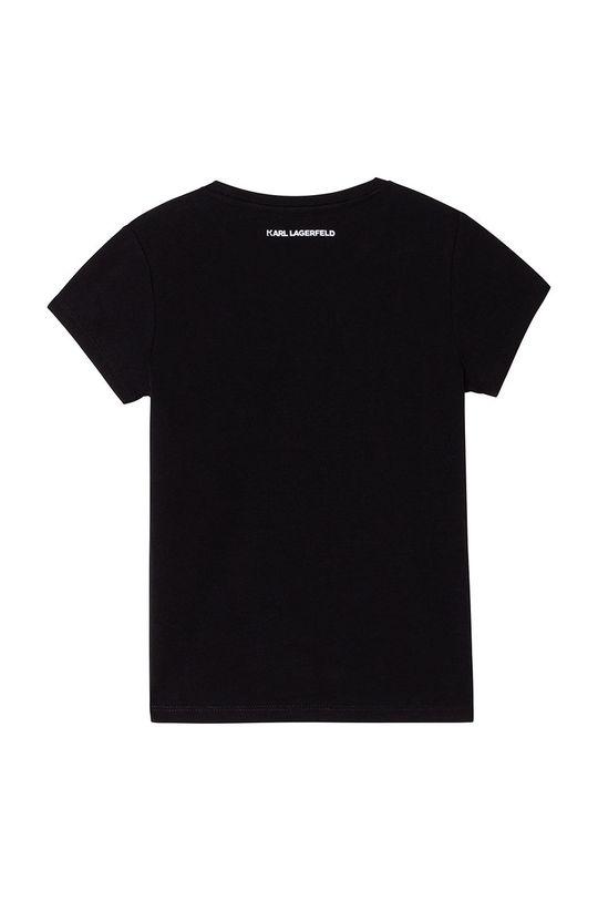 Karl Lagerfeld - Tricou copii negru