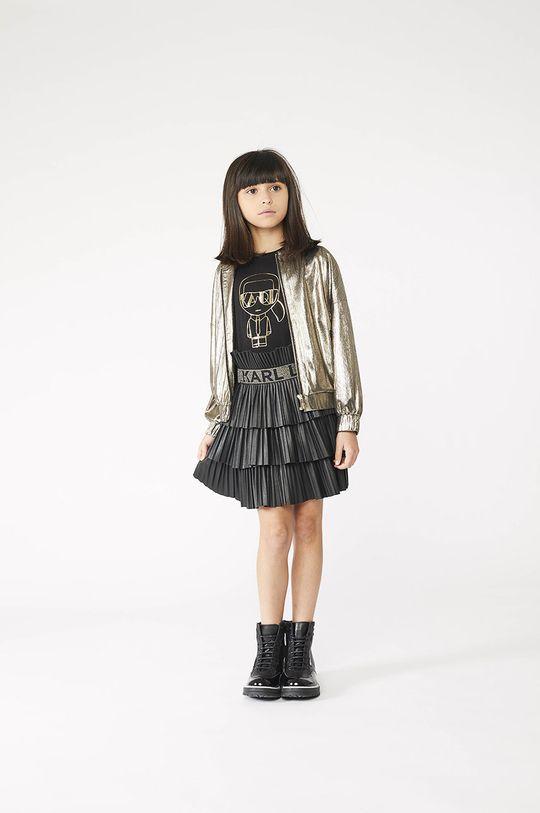 negru Karl Lagerfeld - Tricou copii De fete