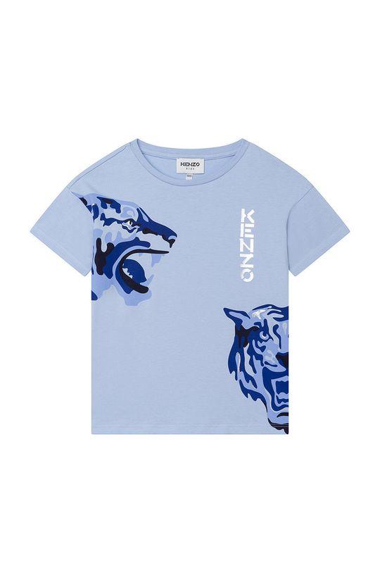 blady niebieski KENZO KIDS - T-shirt dziecięcy Dziewczęcy