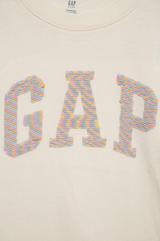 GAP - T-shirt bawełniany dziecięcy 100 % Bawełna organiczna