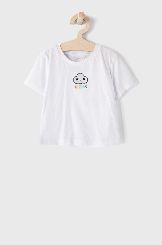 biela Guess - Detské tričko 104-176 cm Detský