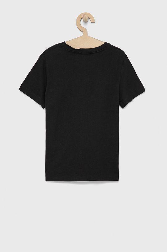 Calvin Klein Jeans - Dětské bavlněné tričko černá