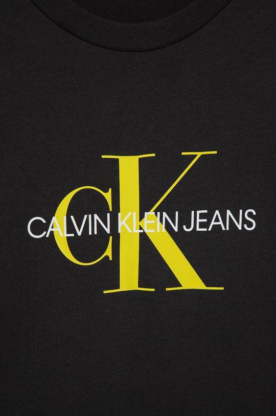 Calvin Klein Jeans - Dětské bavlněné tričko  100% Bavlna