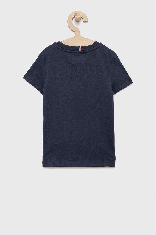 Tommy Hilfiger - Detské tričko tmavomodrá
