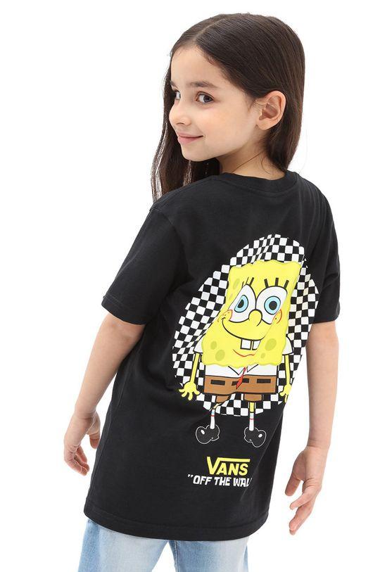 czarny Vans - T-shirt dziecięcy Dziecięcy
