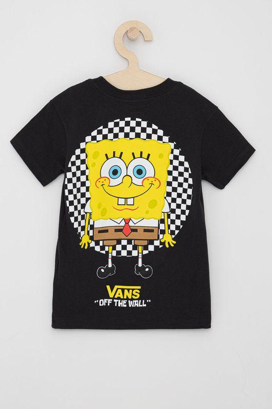 Vans - Dětské tričko černá