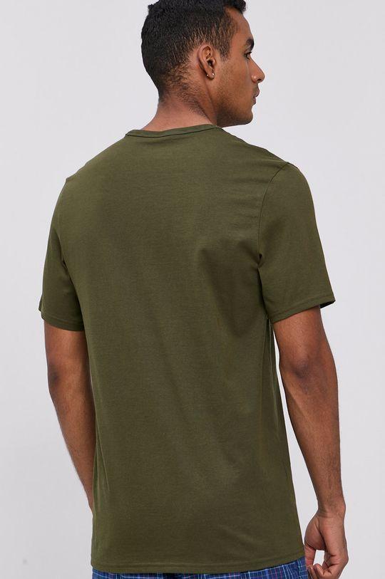 Calvin Klein Underwear - Pyžamové tričko okrová