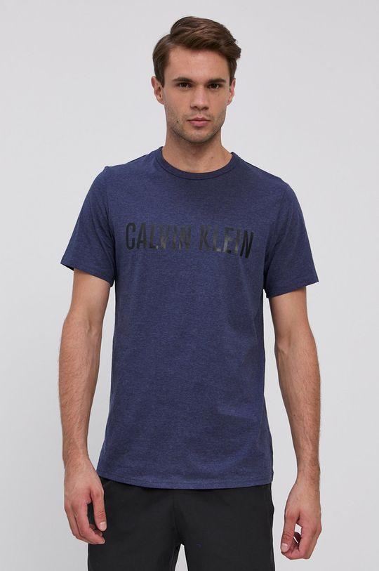 granatowy Calvin Klein Underwear - T-shirt bawełniany Męski