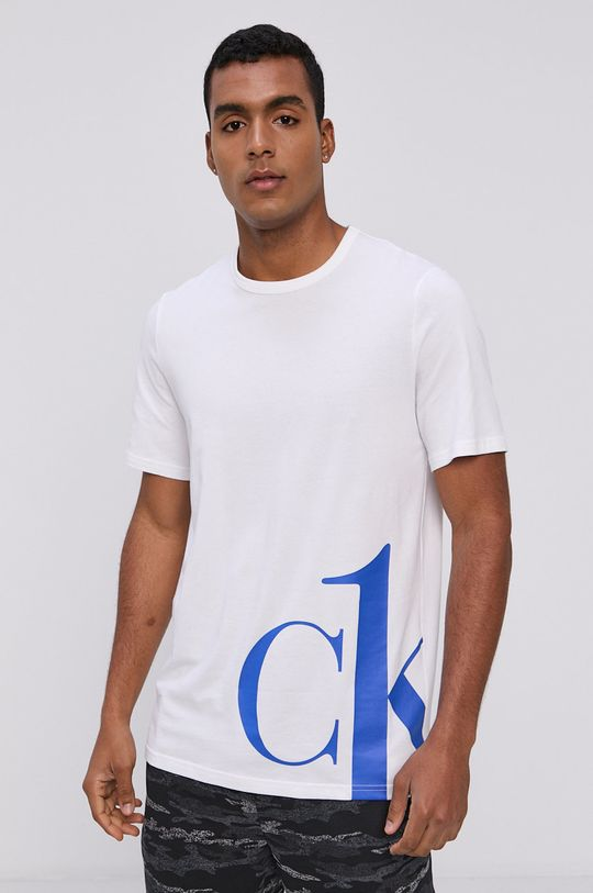 biały Calvin Klein Underwear - T-shirt piżamowy Męski