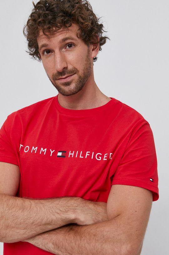 czerwony Tommy Hilfiger - T-shirt