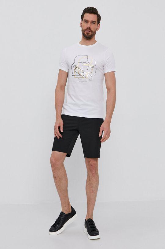 Karl Lagerfeld - Tričko biela