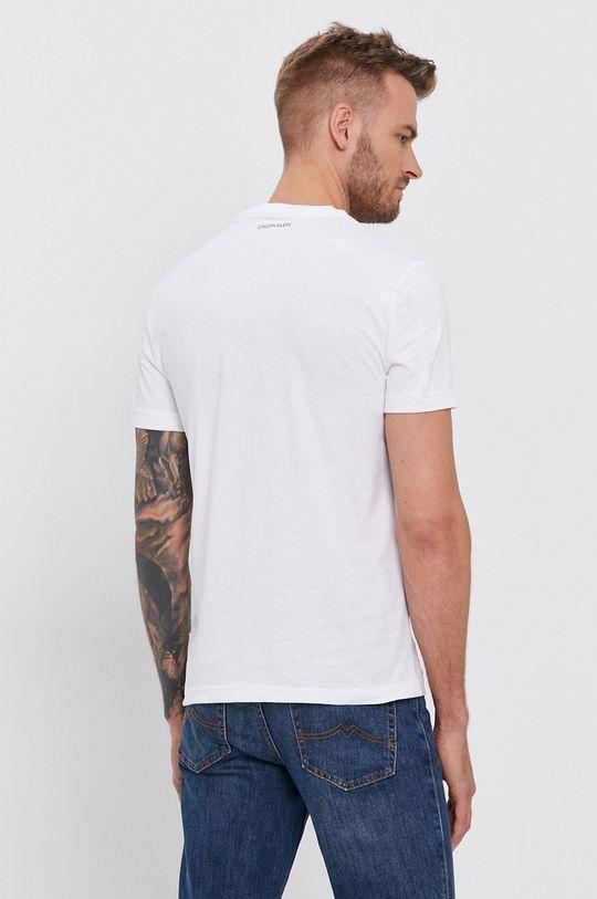 Calvin Klein - T-shirt bawełniany 100 % Bawełna organiczna