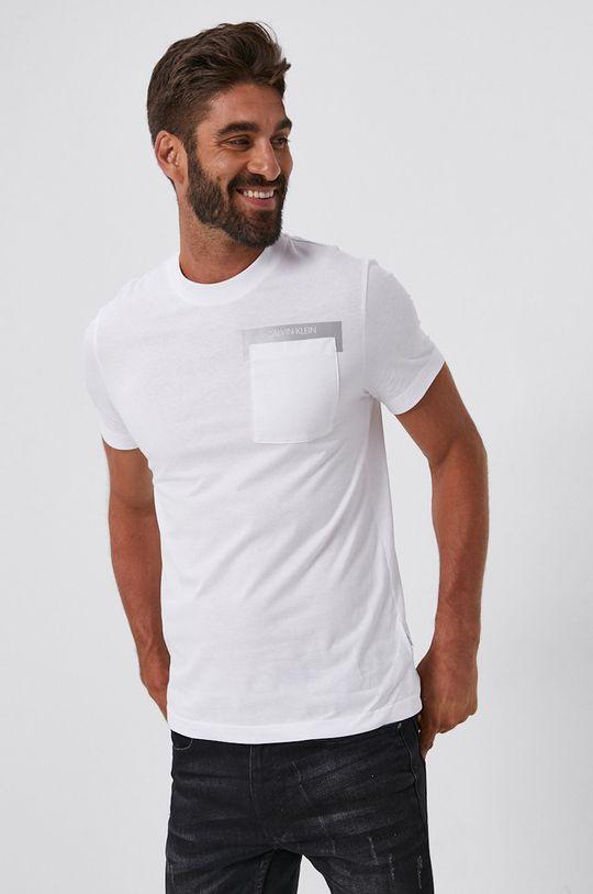biały Calvin Klein - T-shirt Męski