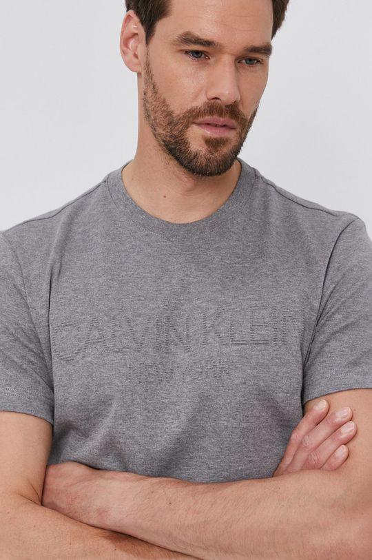 šedá Calvin Klein - Tričko