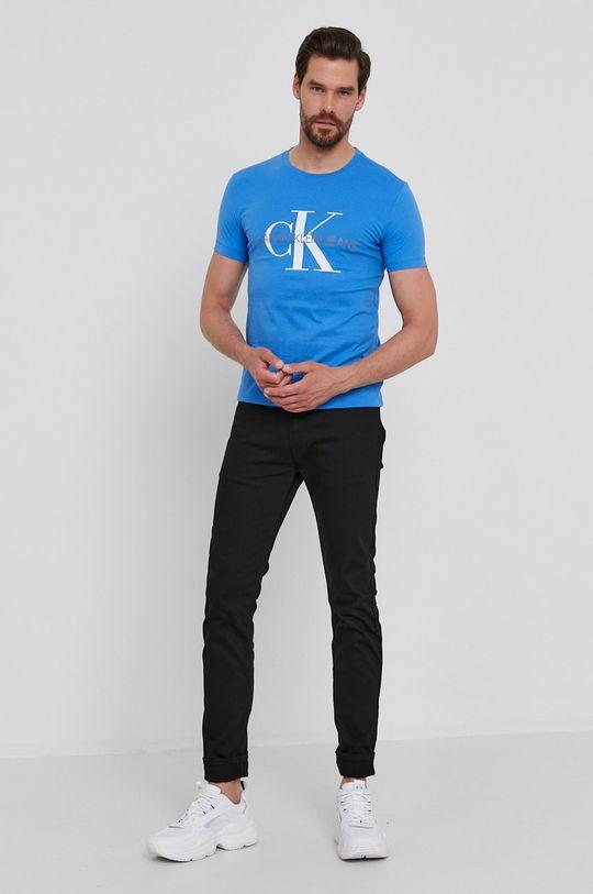 Calvin Klein Jeans - T-shirt niebieski