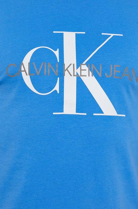 niebieski Calvin Klein Jeans - T-shirt