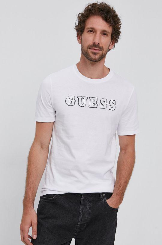 alb Guess - Tricou De bărbați