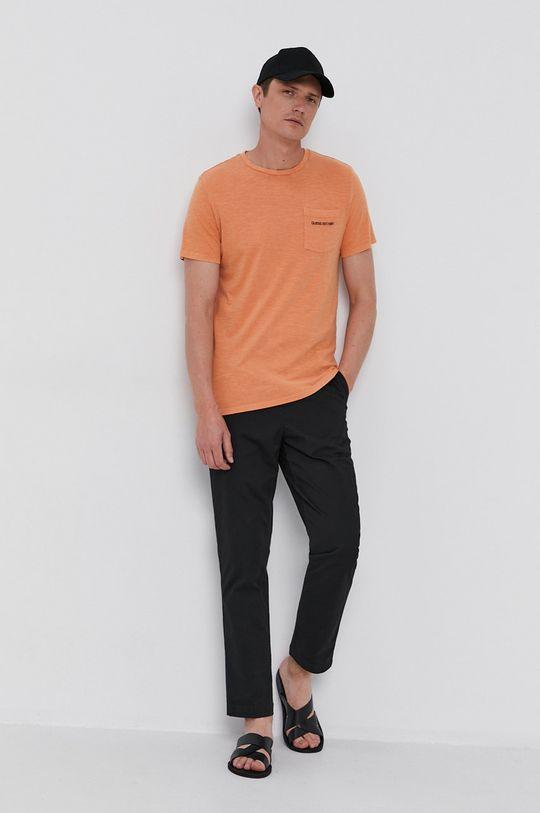 Guess - Tričko jasně oranžová