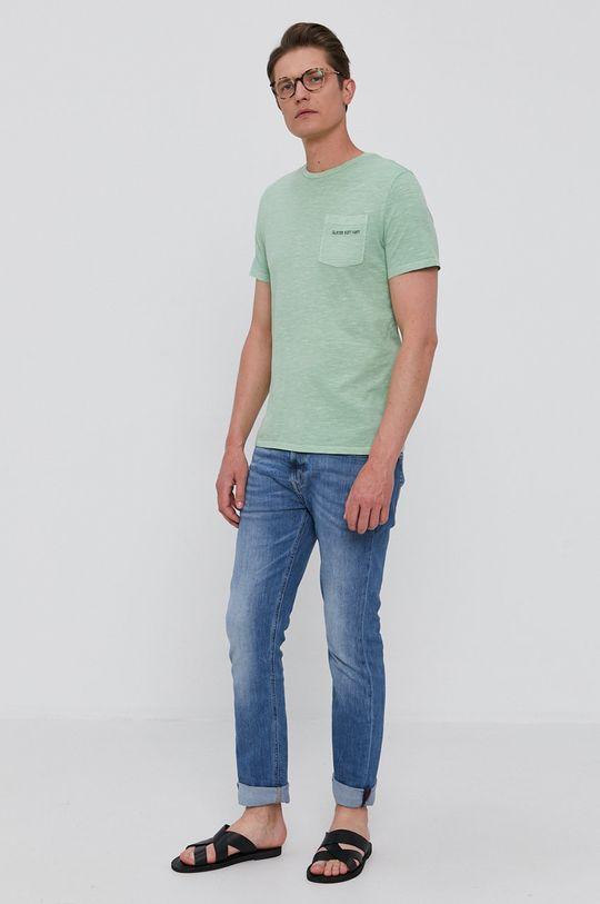 Guess - Tričko světle zelená