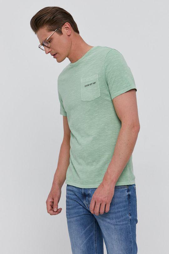 světle zelená Guess - Tričko
