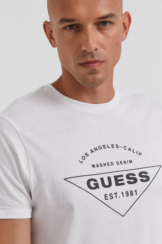 bílá Guess - Tričko