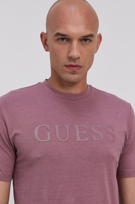 Guess - Tričko ružovo-červená