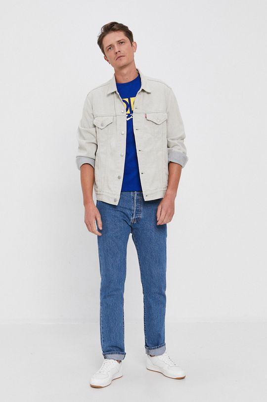 Polo Ralph Lauren - Bavlnené tričko modrá