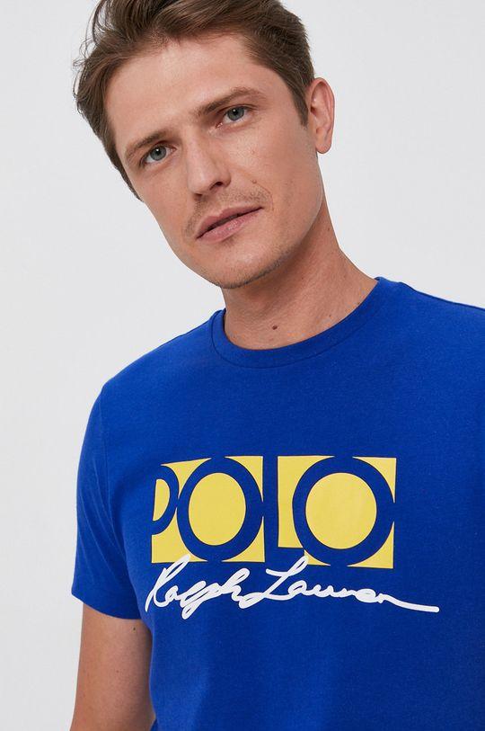 modrá Polo Ralph Lauren - Bavlnené tričko