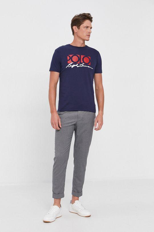Polo Ralph Lauren - T-shirt bawełniany granatowy