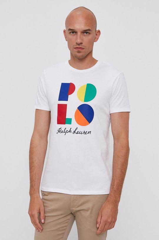 biały Polo Ralph Lauren - T-shirt Męski