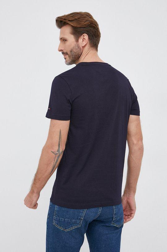 Tommy Hilfiger - T-shirt bawełniany 100 % Bawełna