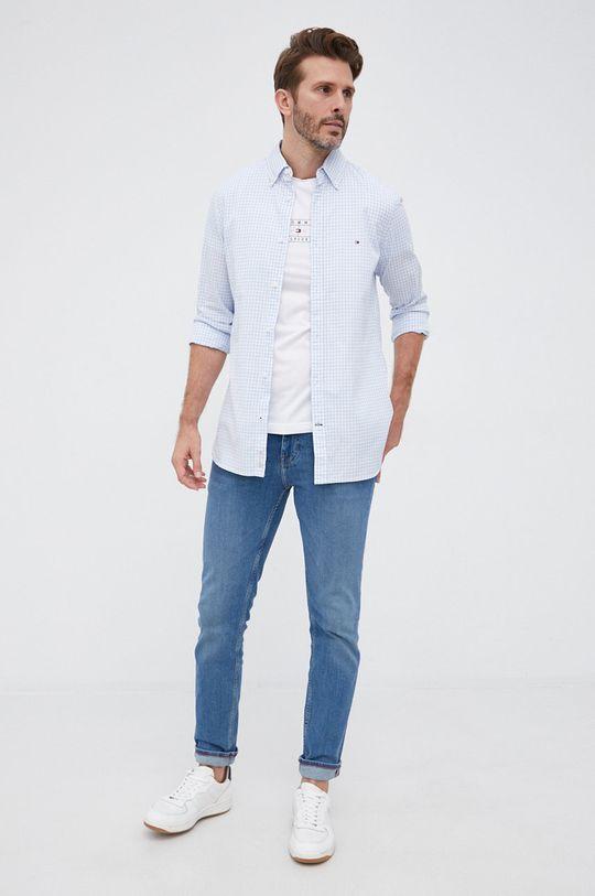 Tommy Hilfiger - T-shirt bawełniany biały