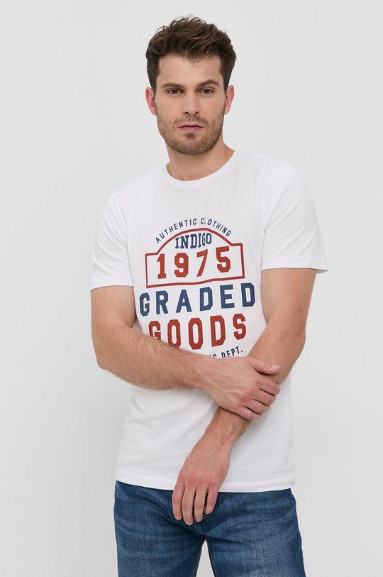 Produkt by Jack & Jones - Tricou din bumbac alb