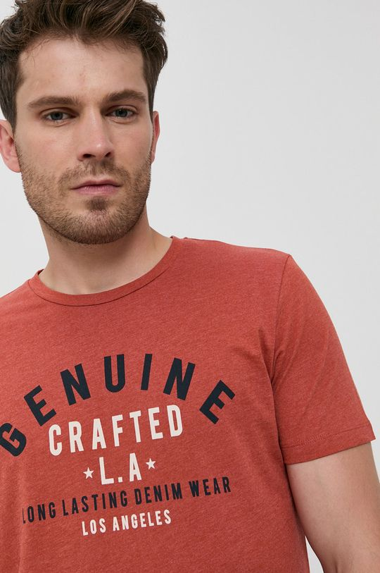 portocaliu Produkt by Jack & Jones - Tricou din bumbac