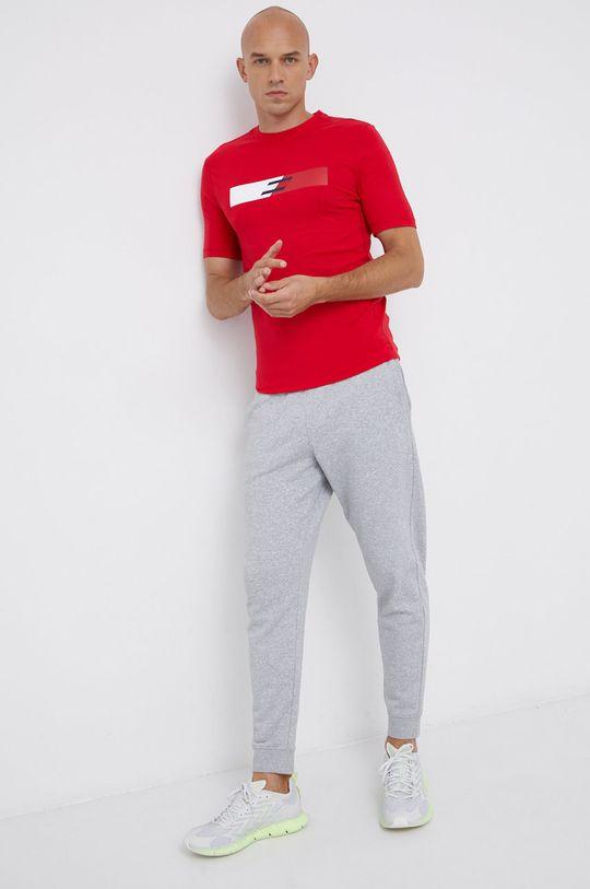 czerwony Tommy Hilfiger - T-shirt Męski