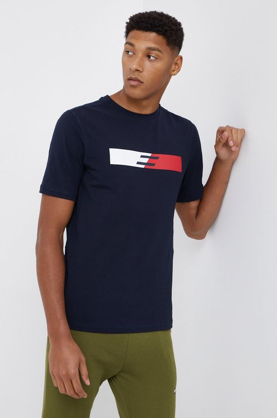 granatowy Tommy Hilfiger - T-shirt