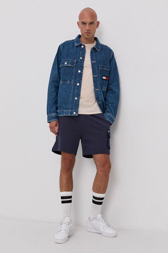 Tommy Jeans - Tričko písková